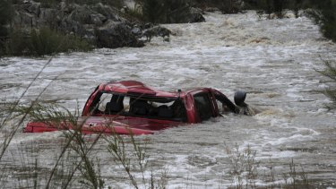 A Canberra man was killed on June 5 after his four-wheel drive was swept upstream in a swollen riven during wild weather.