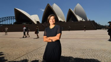"Sydney Opera House chief executive Louise Herron ""it absolutely makes sense"" to renew the World Heritage-listed building."
