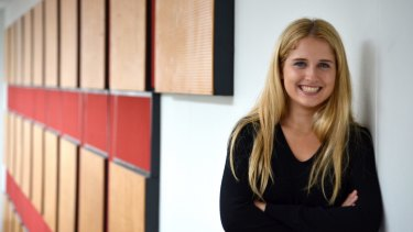 Clare Leslie, Queenwood School's top IB student for 2016.