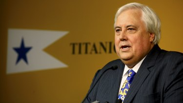 Clive Palmer has challenged the findings of Queensland Nickel administrators.