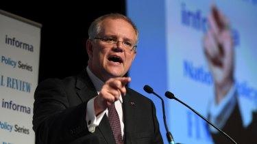 "Banning negative gearing would be ""cruel"", says Treasurer Scott Morrison."