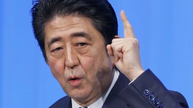 Please explain: Japanese Prime Minister Shinzo Abe is not pleased by the Australian decision to award the $50 billion submarine contract to France.