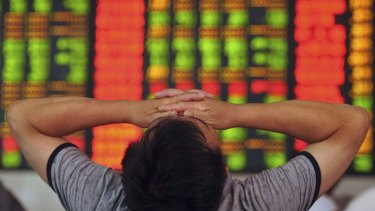 The Shanghai Composite Index slumped 4.3 per cent, bringing the week's loss to more than 10 per cent