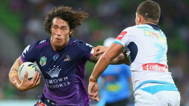 Doubt: Storm second-rower Kevin Proctor must prove his fitness.
