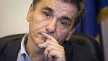 Euclid Tsakalotos, Greece's new finance minister minister, speaks with a British accent and rarely appears in public.