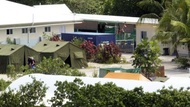 Nauru detention centre, where David Isaacs describes the living conditions of asylum seekers as 'harsh' and their treatment as 'dehumanising'.