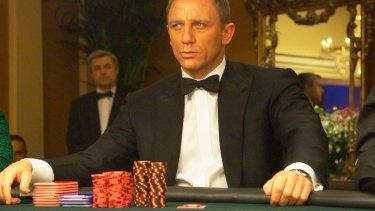 Daniel Craig as James Bond in Casino Royale.