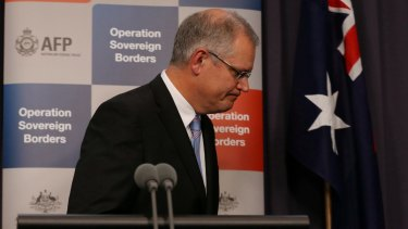 """""""…And my work here is done,"""" Scott Morrison."""