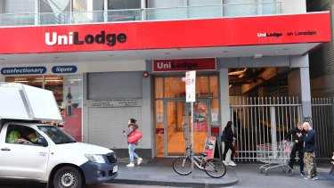 A spokeswoman for UniLodge said it had no comment at this stage.