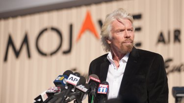 We will continue: Virgin Galactic founder Richard Branson has saluted the bravery of test pilots but has also made comments that suggest the crash was the pilots' fault.