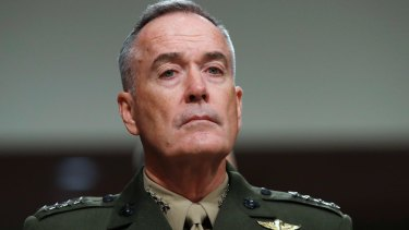 Joint Chiefs of Staff chairman General Joseph Dunford said it was a delicate time.