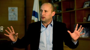 Naftali Bennett, Israel's far-right education minister and a leading voice in the country's settler movement, has said that a Trump presidency should mark the end of calls for a Palestinian state.
