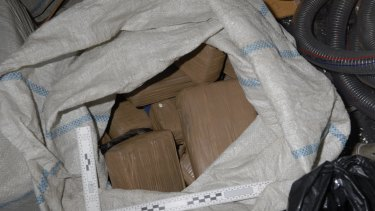 Cocaine found on the former whaling vessel in December.