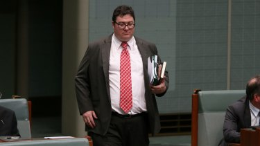 "Coalition MP George Christensen describes the Australian Conservatives as ""a new movement for common sense""."