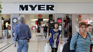"""""""Times of great opportunity"""": Myer flags its time of disappointing results is coming to an end as it enters the Christmas period."""