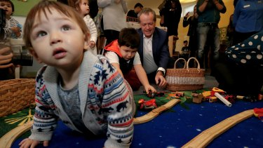 Labor's childcare policy aims to deliver affordable childcare for families.