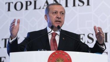 "President Recep Tayyip Erdogan said Turkey favours ""peace, dialogue and diplomacy""."