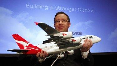 On a wing and a prayer: Qantas chief Alan Joyce.
