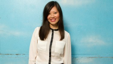 Former Young Australian of the year Tan Le, who is now a Silicon Valley entrepreneur whose company Emotiv is perfecting a wearable headset that can ''read your mind'' using ECG brain waves.