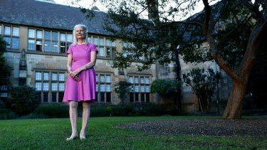 """""""My happiest memories of being at Sydney University are the quadrangle and having lots of coffee and conversation,"""" says Penelope Seidler."""
