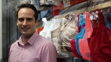 Wes Blundy is the owner of online bra retailer Curvy.