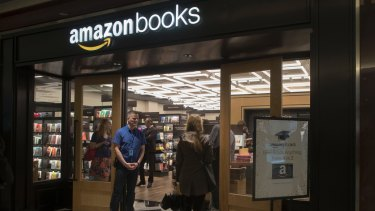 Books were Amazon's first product and the company often uses them to wedge itself into new markets.