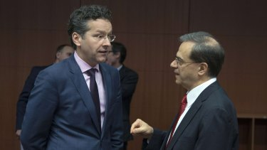 Greece must stick with austerity, says Eurogroup chairman Jeroen Dijsselbloem.