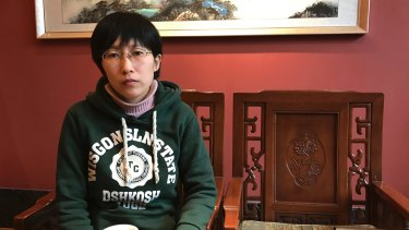 Jia Jingyuan, sister of Jia Jinglong who was executed, according to Chinese authorities.