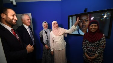 The Prime Minister at the Islamic Museum of Australia.