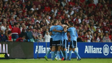 Derby opener: Western Sydney Wanderers and Sydney FC are set to face each other in the first round of the new A-League season.