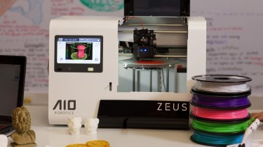 The Zeus 3D printer is at the centre of a proposed syllabus.