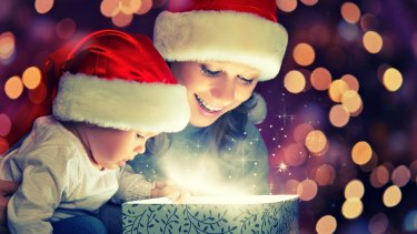 Christmas can be more magical when seen through a child's eyes.