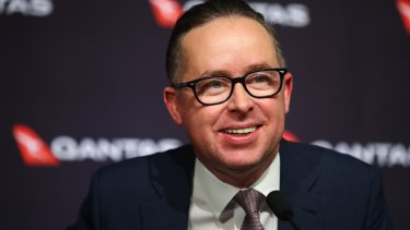 "Qantas CEO Alan Joyce: ""We are getting very close ... to getting the technology that will allow us to operate routes that we [previously] could only have imagined."""