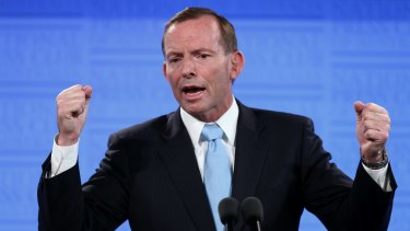 Prime Minister Tony Abbott has moved ahead of Bill Shorten as preferred prime minister in the Fairfax-Ipsos poll for the first time in more than a year.