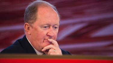 Rio Tinto CFO Chris Lynch says the price fall is surprising.