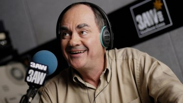 3AW radio breakfast host John Burns.