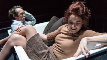 Stephen Phillips and Nikki Shiels in They Divided The Sky.