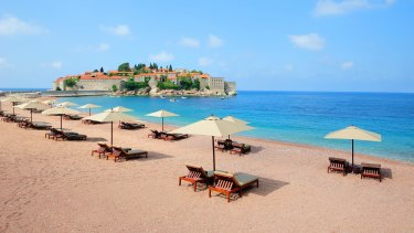 You don't have to retire to go on holidays to distant places like Montenegro.