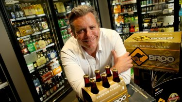 Broo founder and chief executive Kent Grogan said his beer was set to become a major brand in China over the coming years.