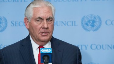Rex Tillerson is leading diplomatic initiatives to resolve the North Korea crisis.