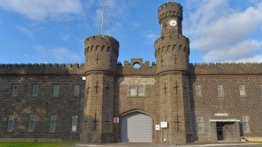 The former Pentridge prison.