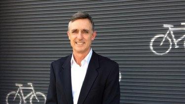 Bicycle Queensland chief executive Ben Wilson.