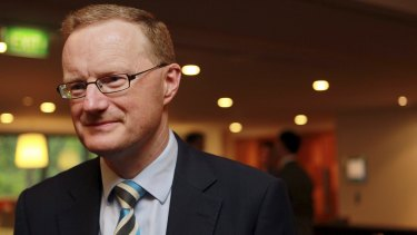 """""""We're in a fortunate position that if we do need to lower interest rates, we can"""": RBA's Dr Philip Lowe."""