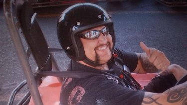 Tyrone Slemnik was killed while standing guard outside a senior Hells Angels member's home in July 2013.