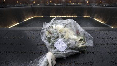 A bouquet left by the Duke and Duchess of Cambridge at the September 11 Memorial's Reflection Pool in New York   this week. The CIA's torture program had its genesis in the response to the terrorist attacks of September 11, 2001.
