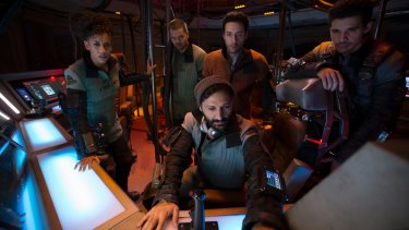 <i>The Expanse</i> is set in a future when a cold war rages between Earth and Mars.
