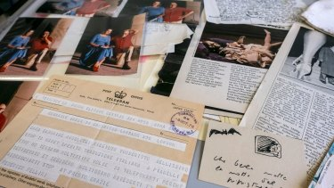 Items from Germaine Greer's archive at the University of Melbourne.