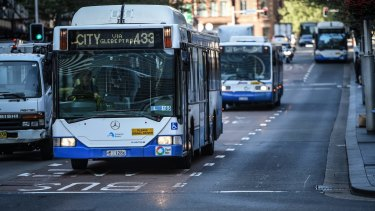 The decision in May to privatise bus services affects about 1200 drivers.