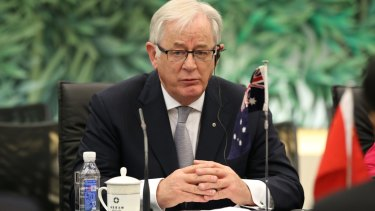 Assurances given: Trade Minister Andrew Robb says there will be no deal allowing the undercutting of Australian labour.