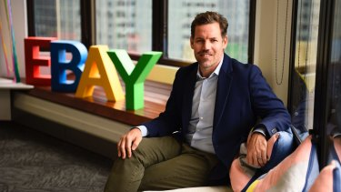 EBay's new local managing director Tim Mackinnon.